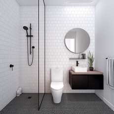 Bathroom for small appartment