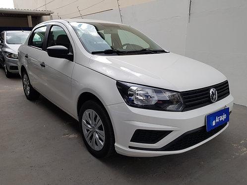 VW Voyage 1.6 MSI completo branco 2020