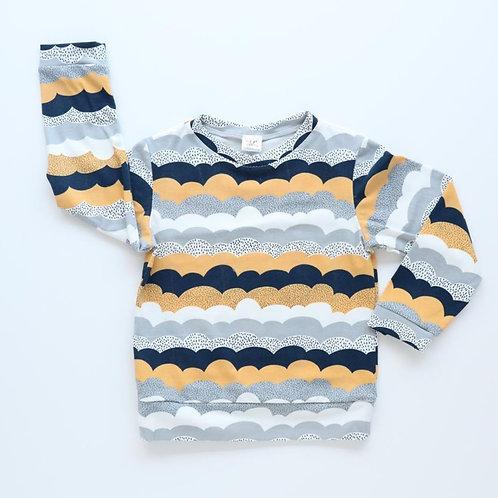 Shirt Kees maat 110 lange mouw