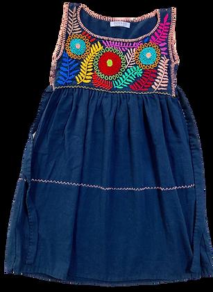 Robe Alicia bleu nuit