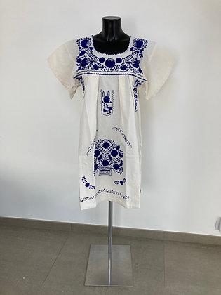 Robe L Marieta Unie bleue