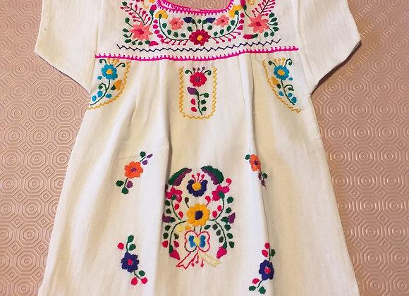 Robe Puebla col fuschia 1an
