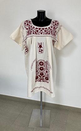Robe XL Marieta Unie grenat