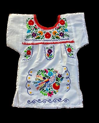 Robe Victoria 1 an blanche