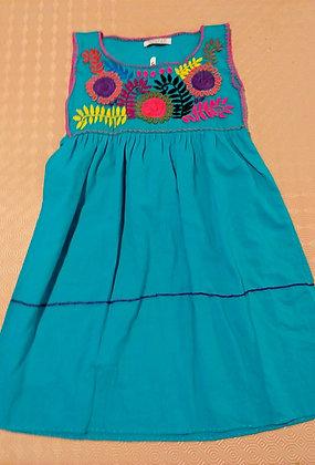 Robe Alicia turquoise
