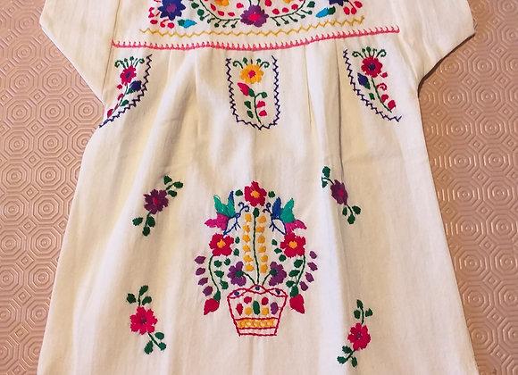 Robe Puebla corail 1an