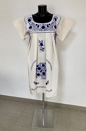 Robe  M Marieta Unie bleue n°2