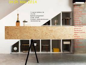 Vente privée Marieta Cox les 24/25 mai 2014 avec Siblings Factory - Paris 3ème