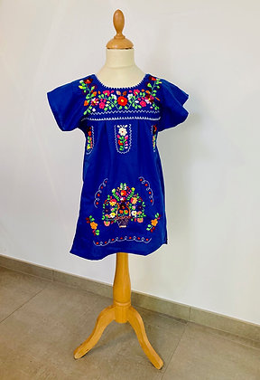 Robe Victoria bleue
