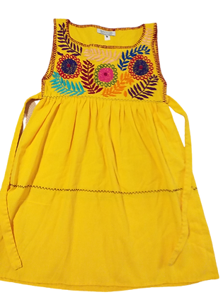 Robe Alicia jaune