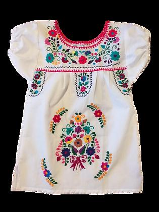 Robe Victoria blanche