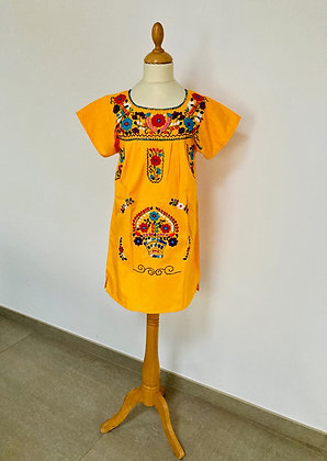 Robe Victoria jaune
