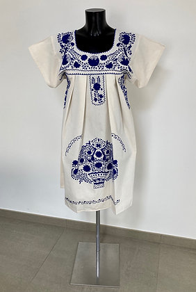 Robe  M Marieta Unie bleue