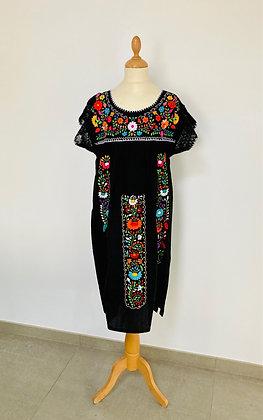 Robe S/M Victoria noire n°2