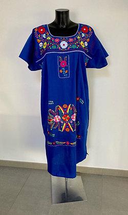 Robe XL Victoria bleue