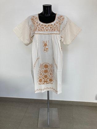 Robe XL Marieta Unie beige