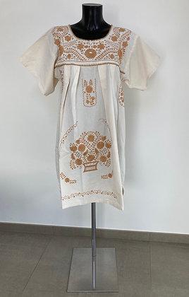 Robe L Marieta Unie beige