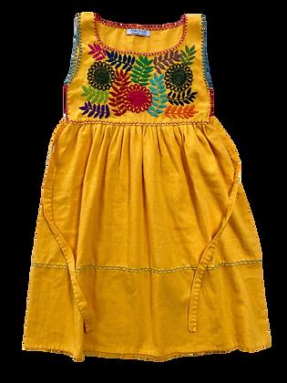Robe Alicia jaune