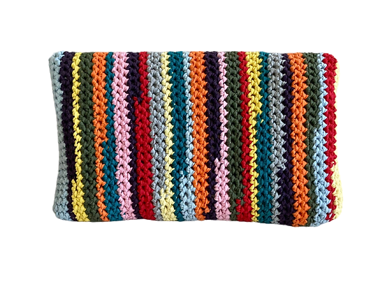 Coussin rectangle bayadère