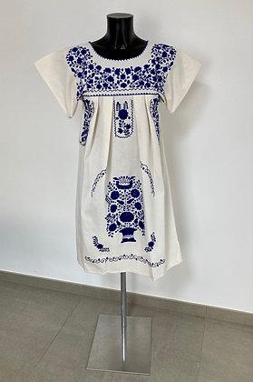 Robe S Marieta Unie bleue