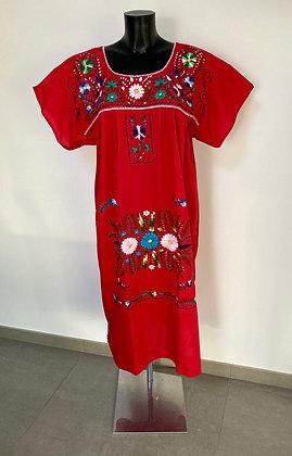 Robe XL Victoria rouge