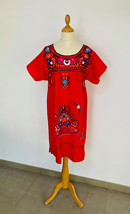 Robe S/M Victoria rouge