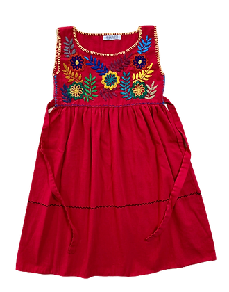 Robe Alicia rouge