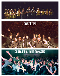 18/04/15 Santa Eulàlia + 19/04/15 Cardedeu