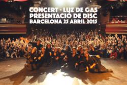 25/04/15 Luz de Gas (Barcelona)