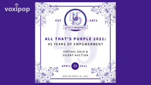 All That's Purple Gala 2021