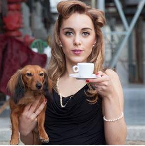 koffie hond