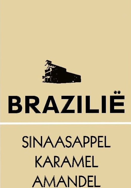 1 KILO SINGLE ORIGIN BRAZILIE -GEMALEN