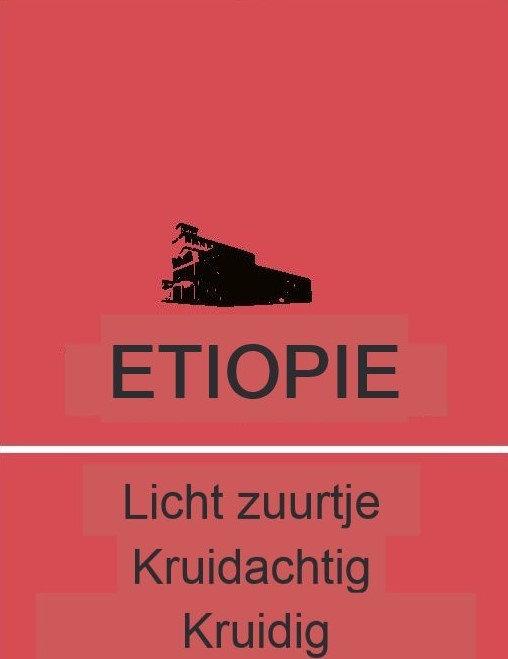 1 KILO SINGLE ORIGIN ETIOPIE GEMALEN