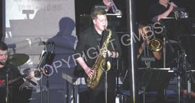 UNO Jazz Ensemble at opening concert
