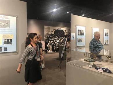 Glenn Miller Museum Visitors