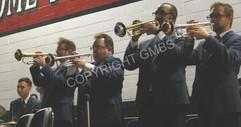 GMO trumpets at dance