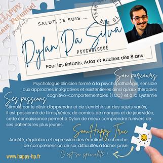 Dylan DA SILVA - Happy Haut Potentiel
