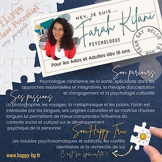 Farah KILANI - Happy Haut Potentiel
