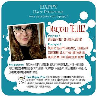 Marjorie TELLIEZ - Happy Haut Potentiel