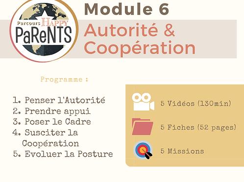 Module 6 - Autorité & Coopération