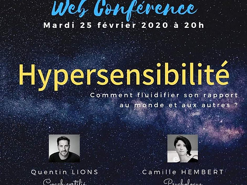 "Replay WebConférence ""Hypersensibilité"""