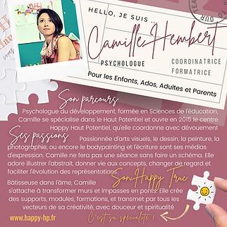 Camille HEMBERT - Happy Haut Potentiel