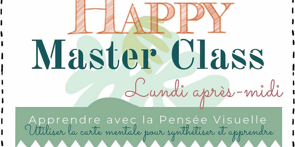 Happy Master Class : Apprendre avec la pensée visuelle