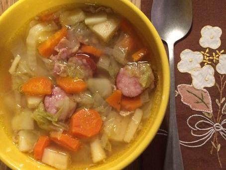Ma soupe au chou