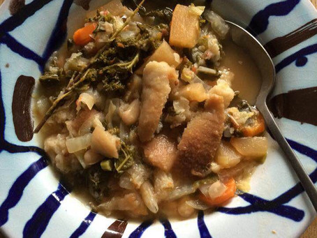 La ribollita, soupe au pain toscane