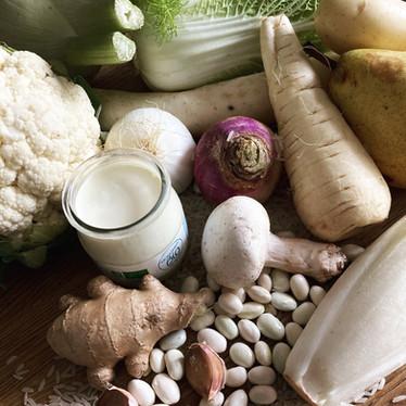 Les aliments de couleur blanche nous font du bien !