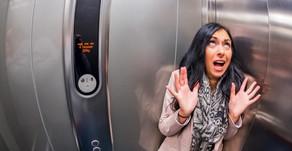 Casos de emergencia: Protocolo para gente encerrada en un ascensor.