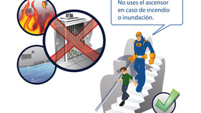 Consejos de seguridad para el uso del ascensor