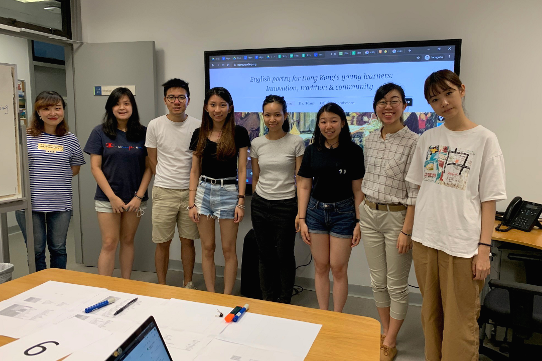 July 2020: HKBU teachers behind the scene