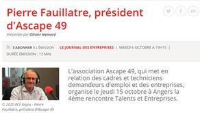 Interview de Pierre FEUILLATRE, Président de l' ASCAPE 49